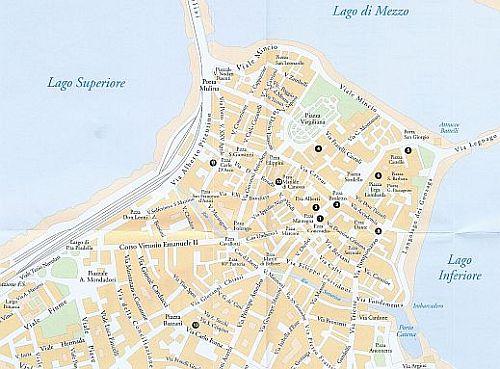 Mappa di Mantova