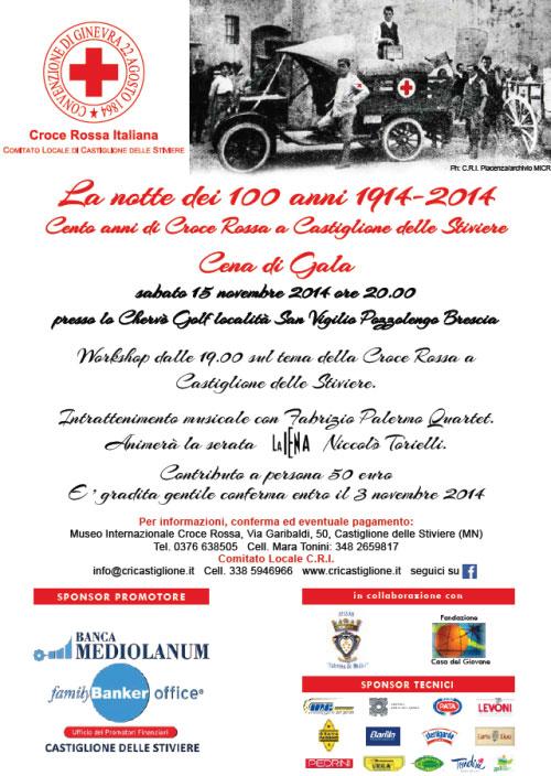Cento anni Croce Rossa Castiglione delle Stiviere (Mantova)