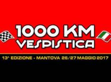 1000 km Vespistica 2017 Mantova Roma in Vespa