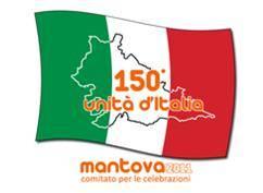logo 150° Unità d'Italia a Mantova