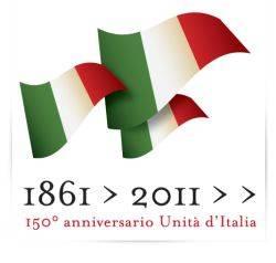 Logo 150° Anniversario Unità Italia