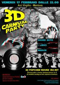 Festa Carnevale 2012 Mantova Arci Virgilio 3D Carnival Party