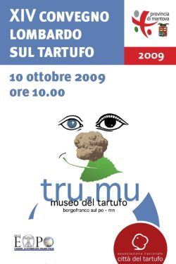 Convegno sul Tartufo