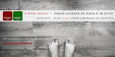 A piedi scalzi Mantova spazio Life Bulgarelli 1921