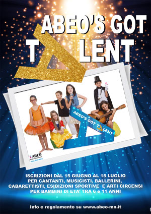 ABEO's Got Talent 2017 Mantova
