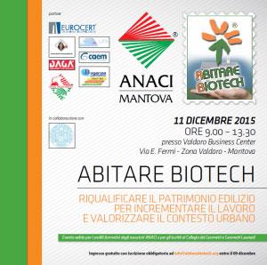 Convegno Abitare Biotech Mantova 2015