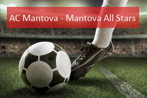 Partita calcio Mantova contro All Stars 2015