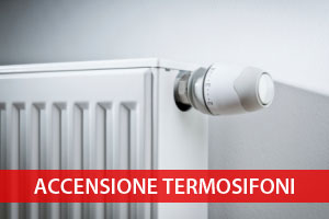 Accensione termosifoni Mantova 2016 2017