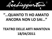 Acchiappastorie, Mantova Teatro delle Arti
