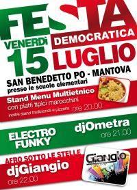 Festa PD - Festa dell'Unità San Benedetto Po 2011