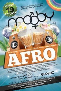 Afro al Mooby Club Castellucchio (Mantova), ex Lime