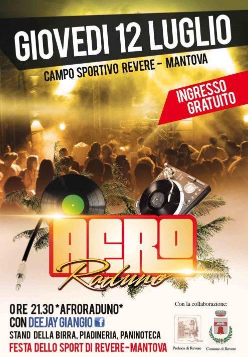 Afro Raduno Festa dello Sport 2012 Revere (Mantova)