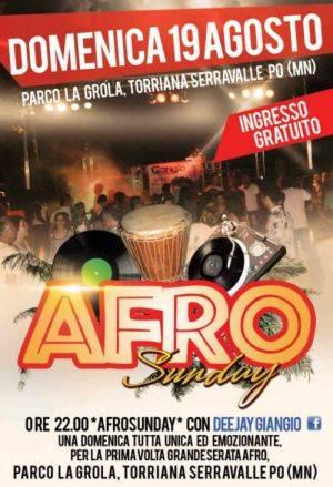 Afro Sunday 2012 Torriana Serravalle Po (Mantova)