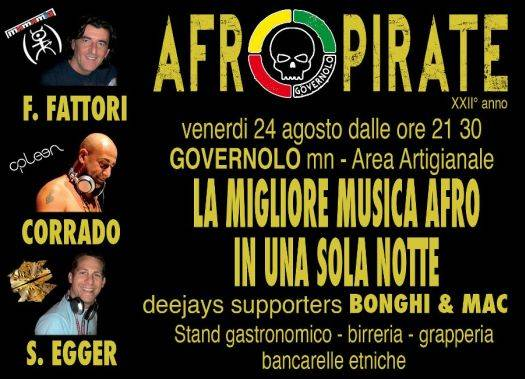 Musica Afro - Afropirate Governolo (Mantova)