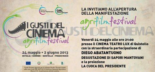 AgriFilmFestival 2013 OltrePò Mantovano