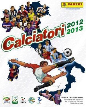 Album Panini figurine Calciatori 2012 2013
