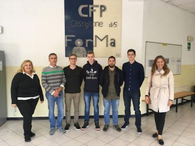 5 giovani da Paderborn a Castiglione delle Stiviere (Mantova)