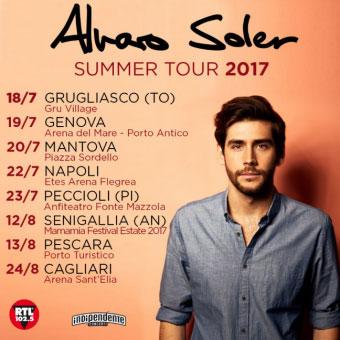 Concerto Alvaro Soler Mantova 2017
