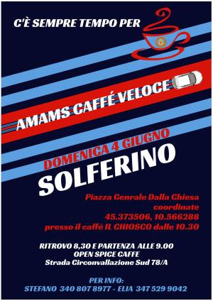AMAMS Caffé Veloce a Solferino (MN) 2017
