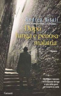 Andrea Vitali Dopo lunga e penosa malattia, copertina libro