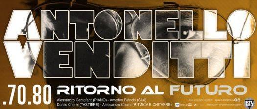 Concerto Antonello Venditti Mantova 2014 70 80 Ritorno al Futuro Tour