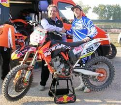 Mantova Starcross 2012 - Antonio Cairoli e Giovanni Pavesi