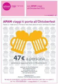 Bus Oktoberfest 2011 Apam Viaggi Mantova