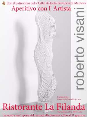 Mostra Aperitivo con l'Artista Roberto Visani Asola (Mantova)