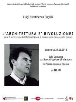 Conferenza L'Architettura è Rivoluzione? a Mantova