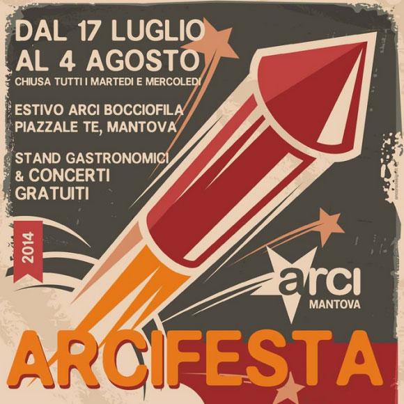 Arci Festa Mantova 2014