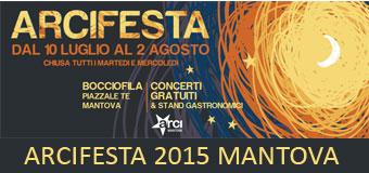 Arci Festa Mantova 2015