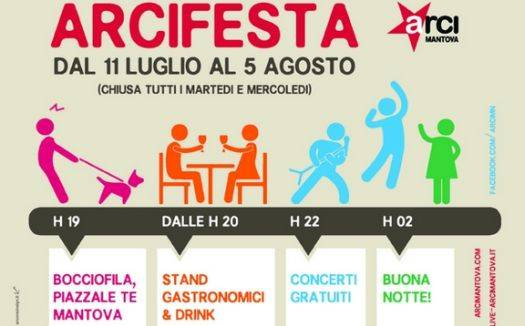 Mantova Arci Festa 2013