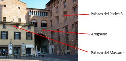Mantova Arengario e Palazzo del Massaro