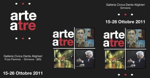 Arte a Tre - Galleria Civica Dante Alighieri Sirmione (Brescia)