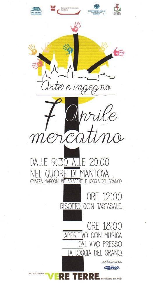 mercatino Arte e Ingegno Mantova 2013