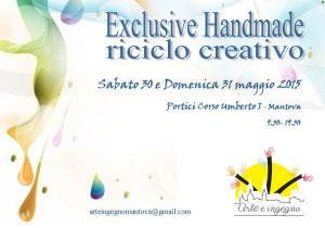 Arte e Ingegno riciclo creativo Mantova 2015