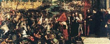Tintoretto Assedio di Asola