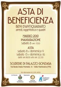 Asta di Beneficienza a Volta Mantovana 8-9 e 15-16 Maggio 2010