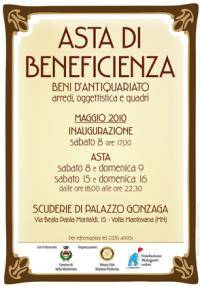 Asta beneficenza beni d 39 antiquariato a volta mantovana for Gonzaga arredi