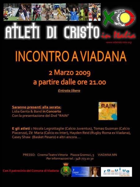 Atleti di Cristo, incontro a Viadana (Mantova)