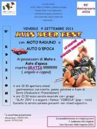 San Giacomo delle Segnate (MN) - Avis Beer Fest 2011 Raduno Moto e Auto Epoca