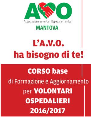AVO Mantova corso volontari ospedale 2016 2017