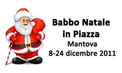 Mantova Babbo Natale in Piazza 2011