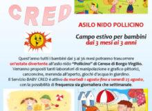 Baby Cred 2017 asilo nido Pollicino Cerese Mantova