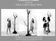 Balletto Chimay Tutta colpa delle virtù Castellucchio MN
