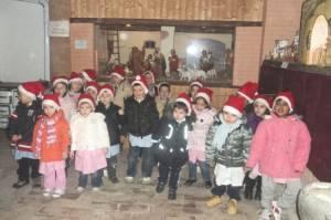 Bambini Scuola Materna dell'Infanzia Breda Cisoni - Sabbioneta (Mantova)