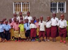 bambini scuola Rwanda