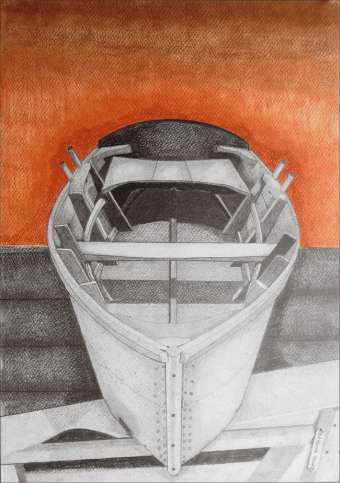Barca a Remi David Booker, disegno