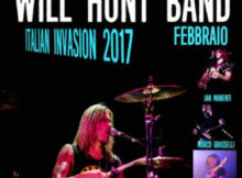 batterista Will Hunt tour Italia 2017 Castel Goffredo Mantova