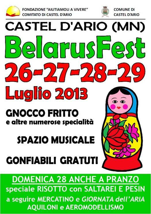 Belarusfest 2013 Castel d'Ario (Mantova)